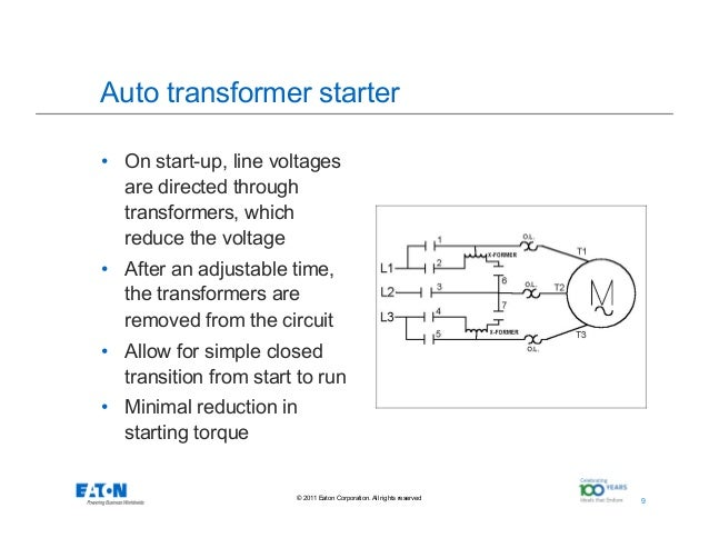 Advantages Of Soft Start Motor Control on auto transformer motor starter diagram
