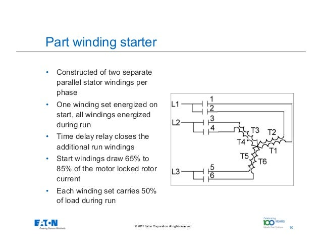 Part winding starter wiring diagram wiring diagrams schematics part winding start motor wiring diagram wiring diagram 12 lead part winding start part winding starter wiring diagram advantages of soft start motor control cheapraybanclubmaster Images