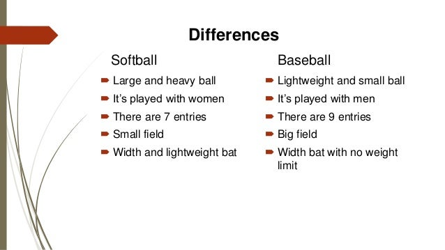compare and contrast baseball and basketball All cleats are not the same a quick 101 on cleats the differences between  soccer, baseball, football and lacrosse cleats.