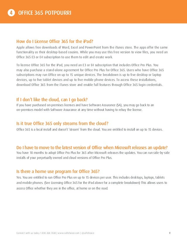 9 - Microsoft Visio Home Use Program