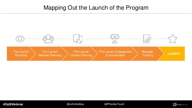 #DySiWebinar @schnitzelboy @PHanleyTouch Branding The Program Create a platform of your own that your employees feel comfo...