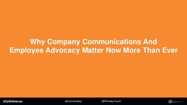 #DySiWebinar @schnitzelboy @PHanleyTouch The Problem Facing Today's Global Enterprises Technology has changed the way we c...