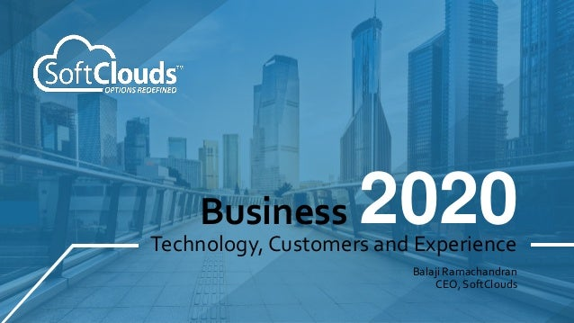 Business in 2020 and the Top Technology Trends