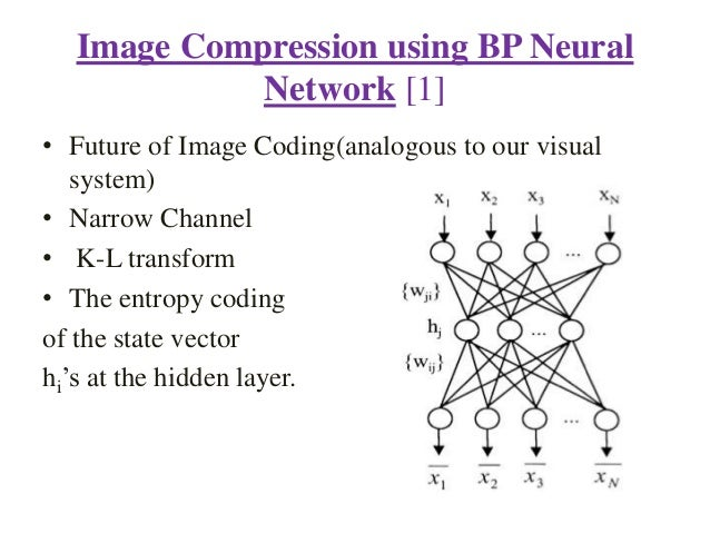 thesis on image compression using neural network Developing neural network applications using labview a thesis presented to the faculty of the graduate school university of missouri-columbia.