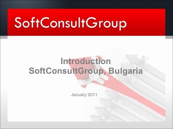 SoftConsultGroup - Software development company - profile