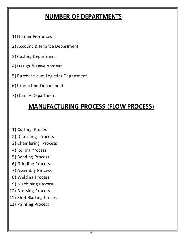 Industrial training report essay