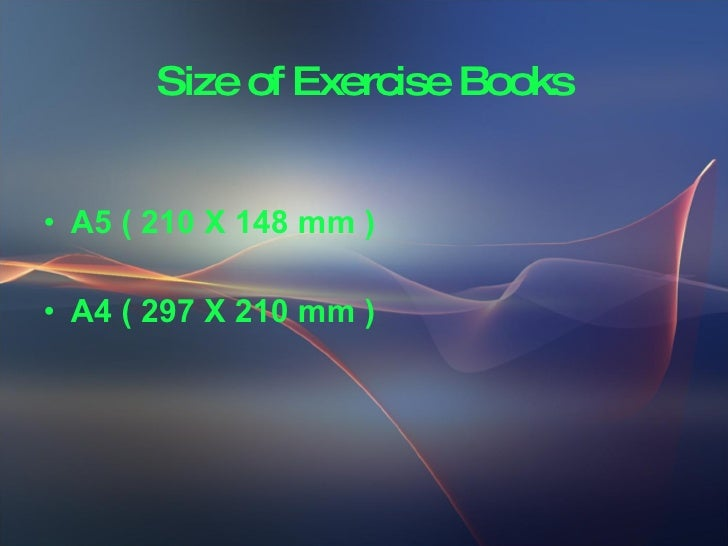 Soft Cover Exercise Book Making Slide 2