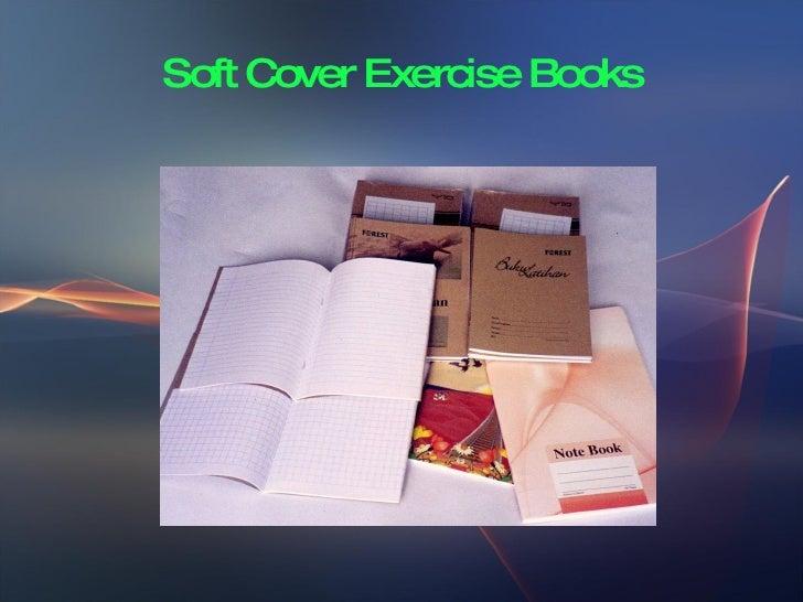 Soft Cover Exercise Book Making Slide 3