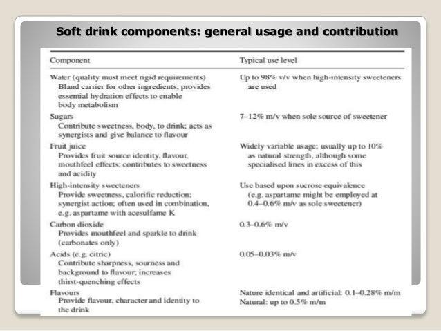 Soft drinks supply chain - Sample Essay
