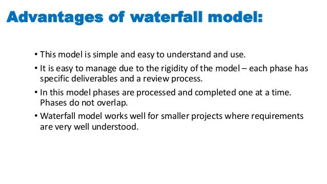 Online bus ticket booking system for Waterfall model is not suitable for