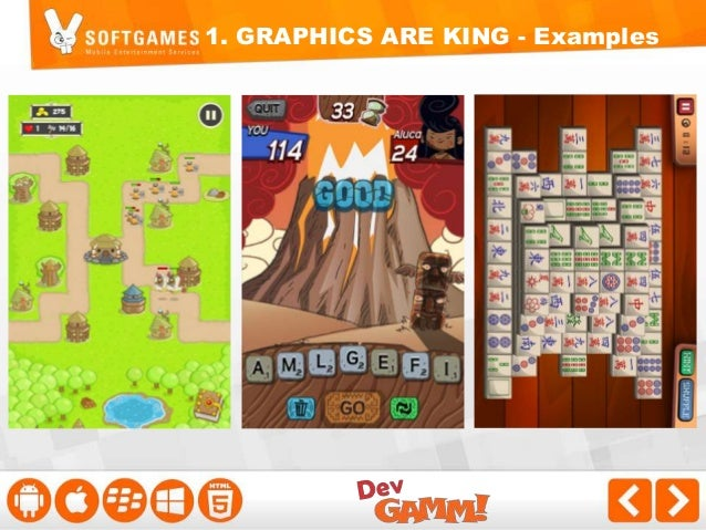 2. LOADING TIME IS KING  - Be efficient with the game assets - Include a loading bar - Test your game using EDGE & 3G, not...