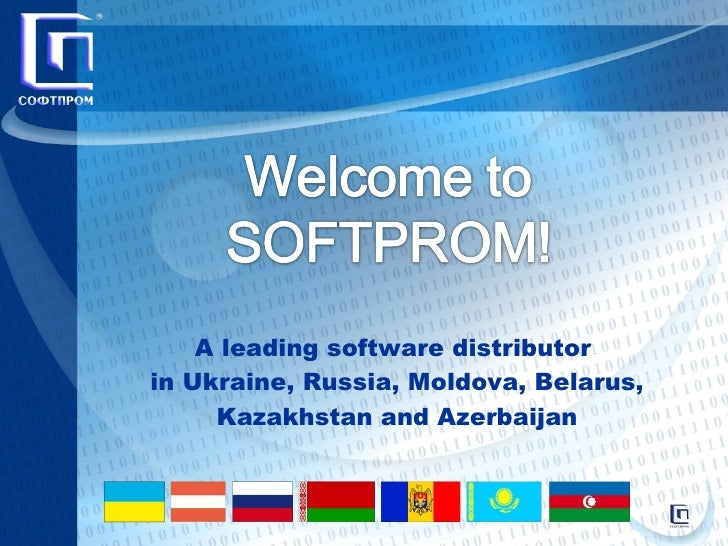 A leading software distributor  in Ukraine, Russia, Moldova, Belarus, Kazakhstan and Azerbaijan