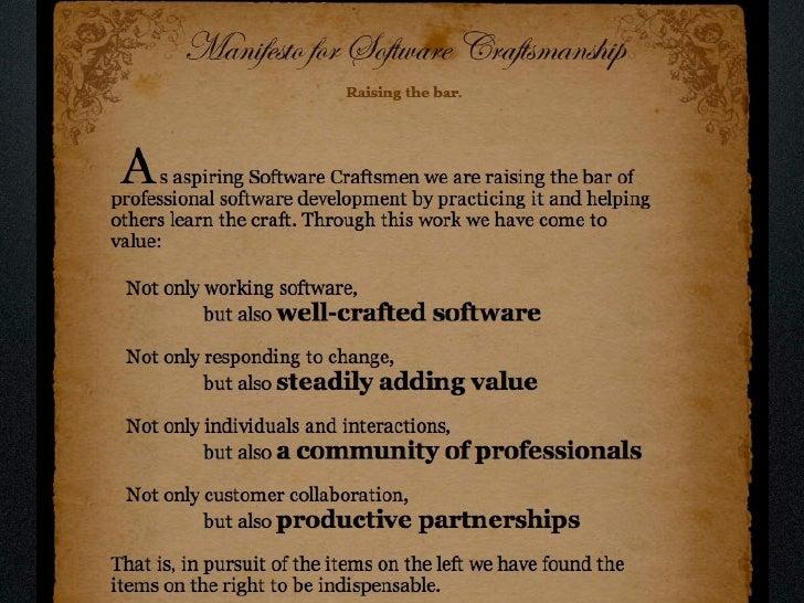 Software Craftsmanship: En pratique Slide 15
