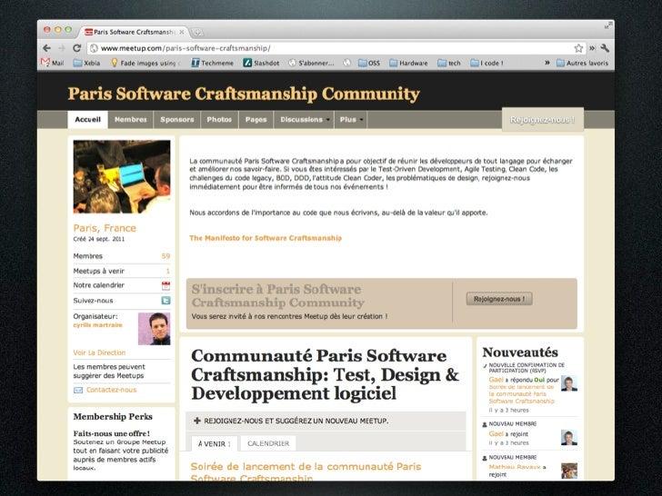 Software Craftsmanship: En pratique