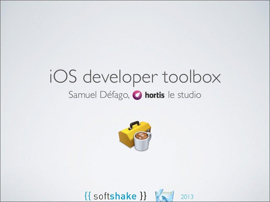 iOS developer toolbox