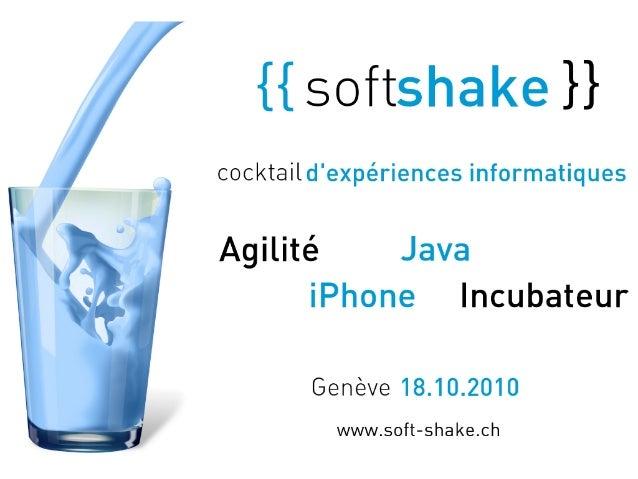 Play! framework : Soft-Shake presentation