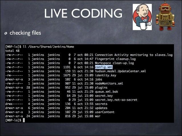 LIVE CODING checking files