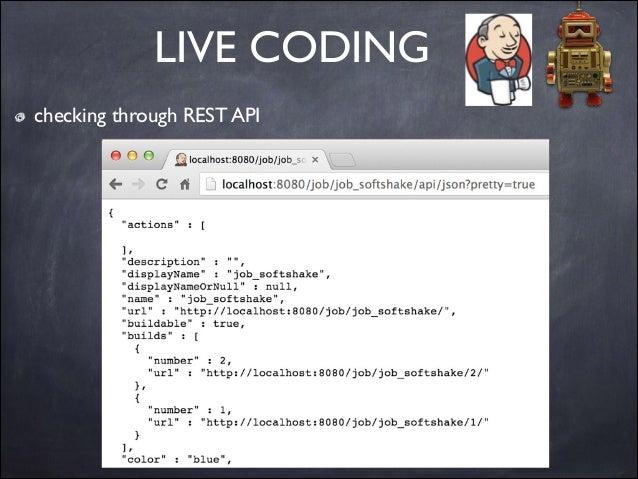 LIVE CODING checking through REST API