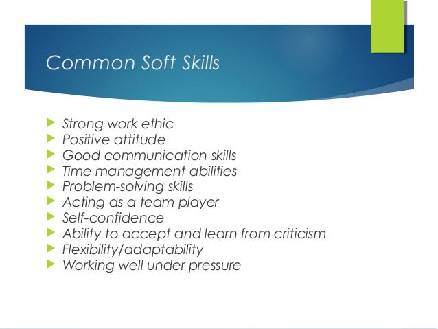 work skills required to be employed The responsibilities of self-employment are endless but by developing these 5 skills, entrepreneurs can give themselves a better chance at self-employed success  5 skills crucial to self-employment success by april maguire  4 min read  if you work hard at developing the skills highlighted above and stay the course, you too can reap.