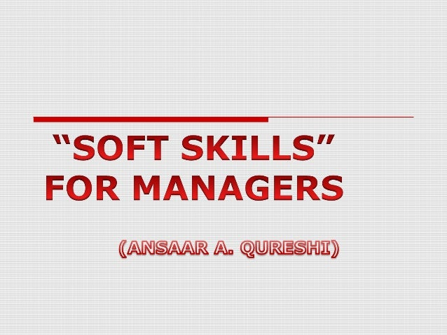 "Soft skills"" refer to a cluster of personal qualities, habits, attitudes and social graces that make someone a good employ..."