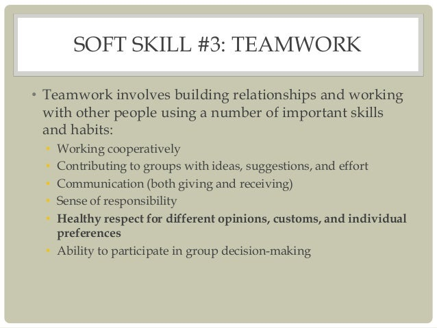 how to build soft skills