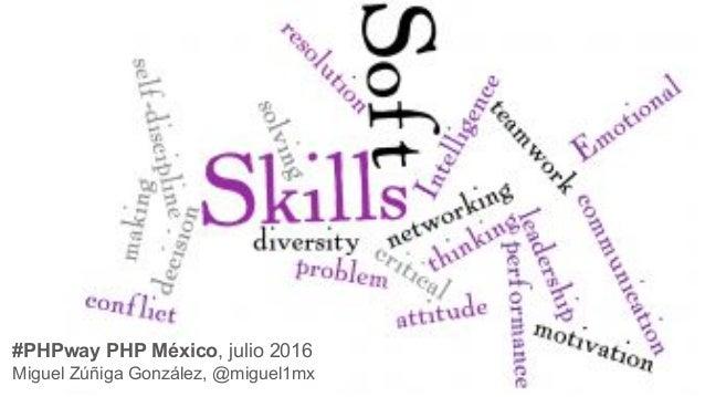 #PHPway PHP México, julio 2016 Miguel Zúñiga González, @miguel1mx