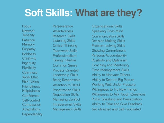 what are soft skills and why are they important pdf