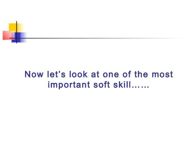 most important soft skills