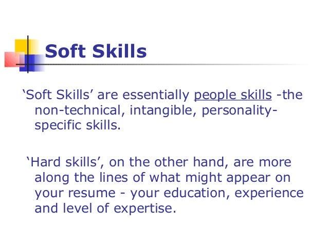 Soft Skills U0027 ...  Soft Skills For Resume