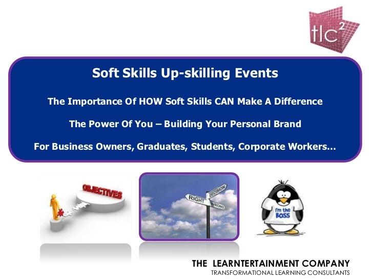Soft Skills Up-skilling Events  The Importance Of HOW Soft Skills CAN Make A Difference      The Power Of You – Building Y...