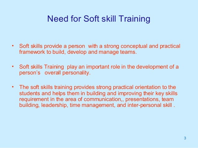 Soft skill training need and market potential