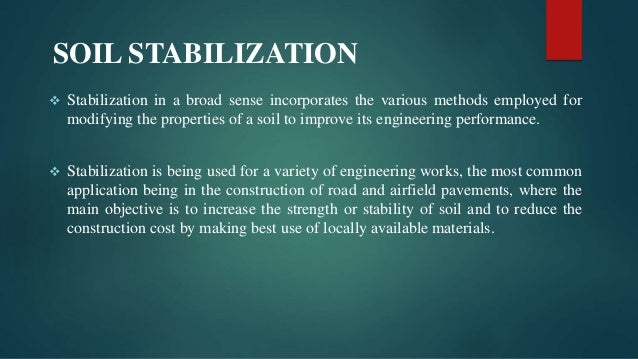 Soft soil stabilization using nanomaterials for Soil stabilization