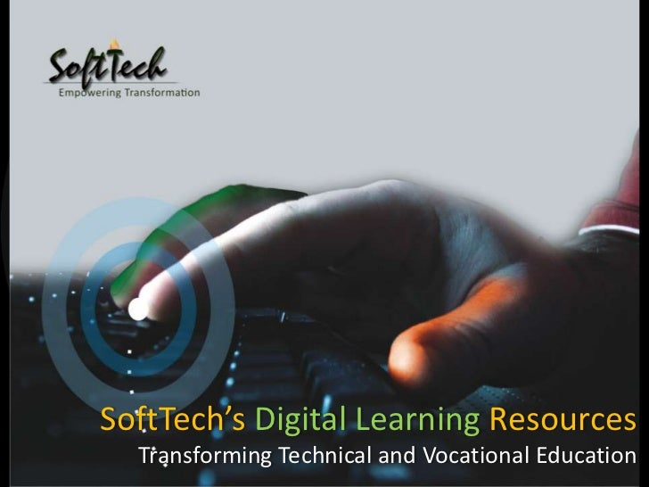 SoftTech's Digital Learning Resources Transforming Technical and Vocational Education<br />