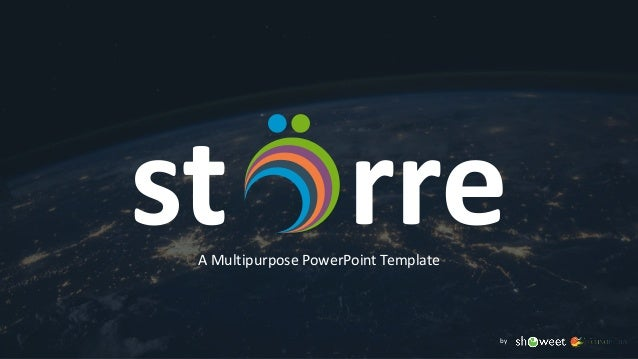 st rreA Multipurpose PowerPoint Template by