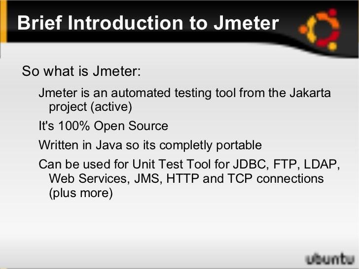 Soft Test Ireland - Introduction to Jakarta Jmeter - Philip Bannon