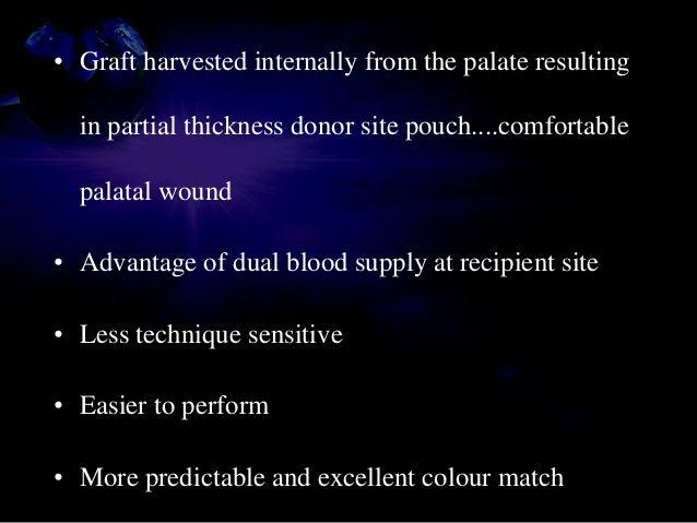 • Graft immobilization • Dimensions should closely match the recipient pouch • 4-0 chromic suture : Horizontal mattress su...