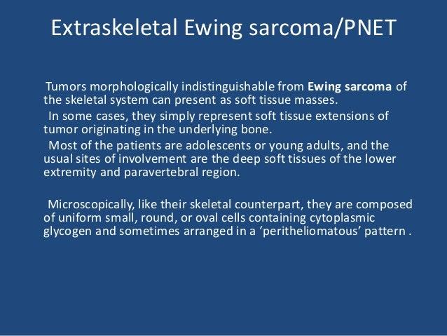 PNET (Ewings tumor)