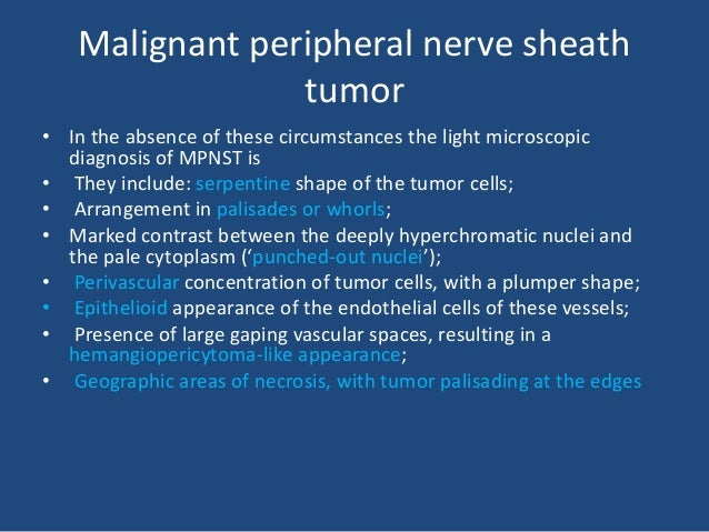 Malignant peripheral nerve sheath tumor
