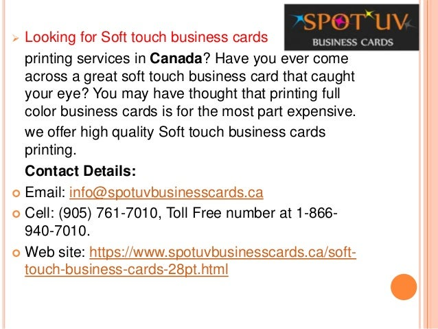 Soft touch business cards 6 looking for soft touch business cards printing services in canada reheart Images