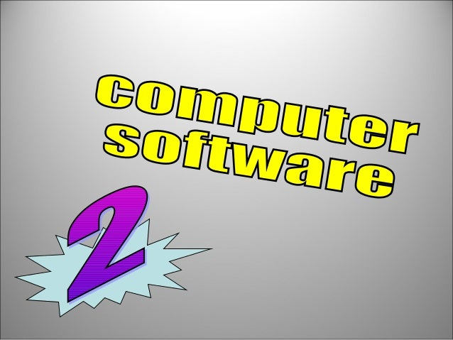 Computer software. Software, or program, enables a computer to perform specific tasks, as opposed to the physical componen...