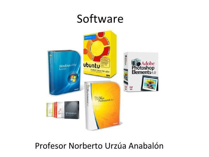 Software Profesor Norberto Urzúa Anabalón