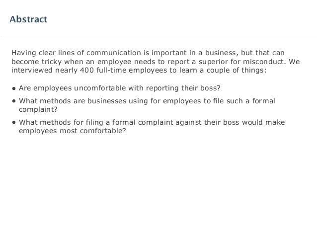 Software Advice IndustryView: Manager Misconduct Complaint Report Slide 2