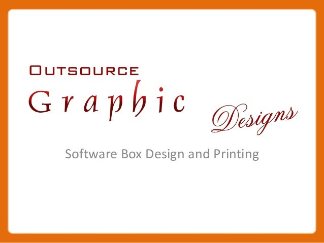 Software Box Design and Printing