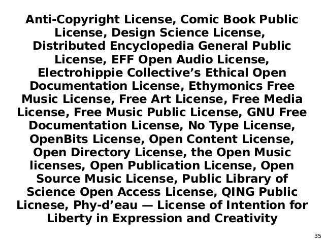 Software Eats the (Commons/Public Licensing) World (It