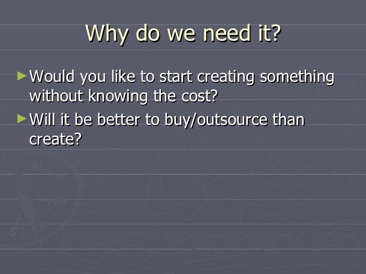 Software Estimation Techniques Slide 3