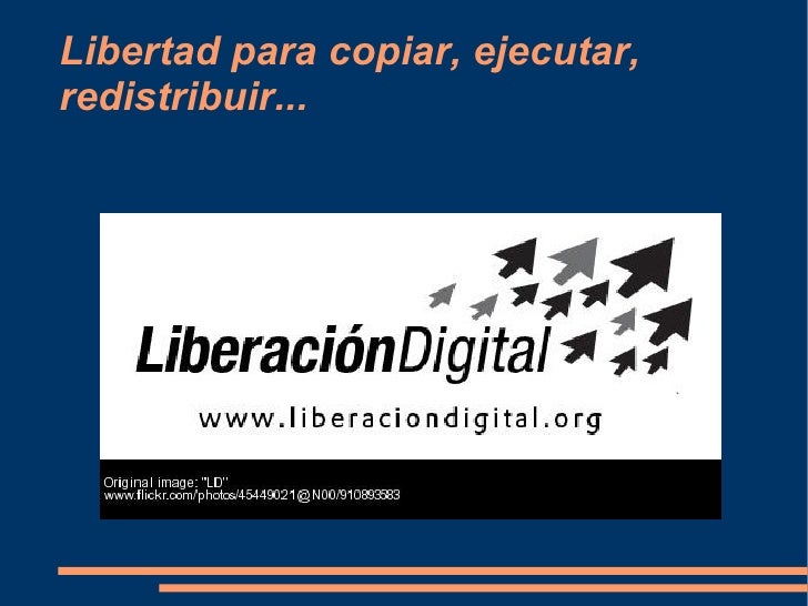 Software Libre En EducacióN. Por Elena Cebrián Morote Slide 3