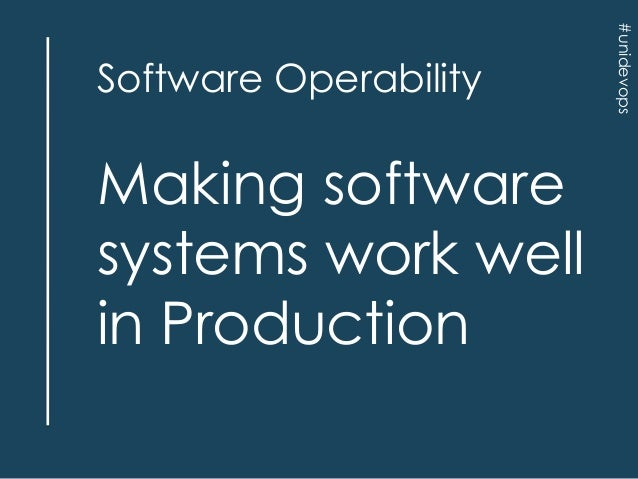 Software Operability And Run Book Collaboration Devops Summit Bang