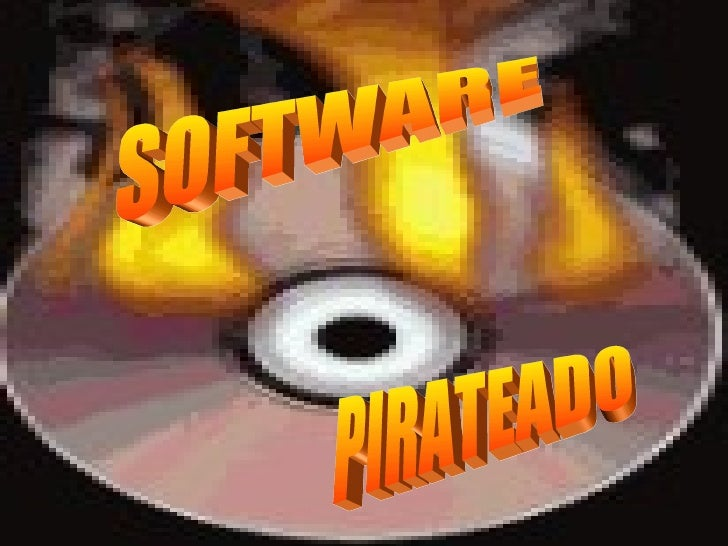 SOFTWARE  PIRATEADO