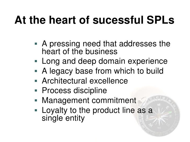 Entry Criteria for SPL     Are there multiple systems with sufficient      commonality?      Does the organization have ...