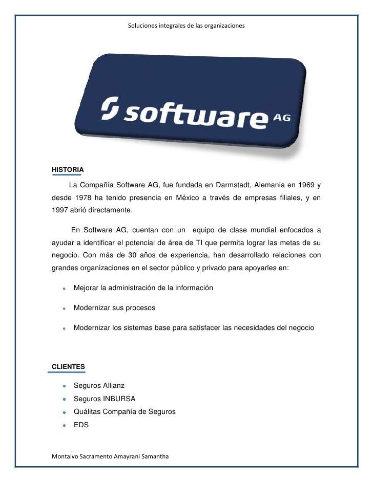 Software ag´s Slide 2